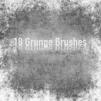 18 Grunge Brushes