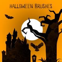 8 Halloween Brushes