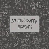 37 Halloween Brushes