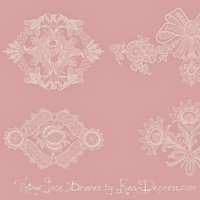 Vintage Lace Ornament PS Brushes