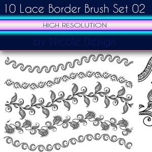 10 Lace Bruushes