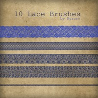 10 Free Lace Brushes