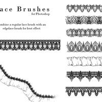 Lace Photoshop Brushes