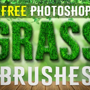 Free Photoshop Grass Brushes by FixThePhoto