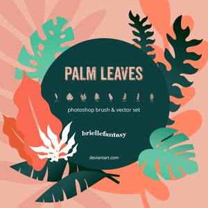 Palm Leaves Brushes