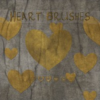Free Heart Brushes