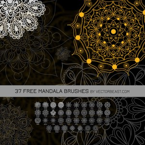 37 Free Mandala Brushes