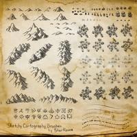 Sketchy Cartography Brushes