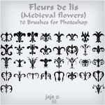 Medieval Flowers Brushes