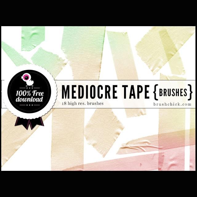 Photoshop brushes medic tape