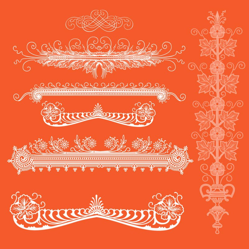 Photoshop brushes ornamental dividers