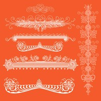 Ornamental Elements – Free PS brushes