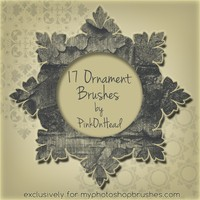 Ornament Brushes by PinkOnHead