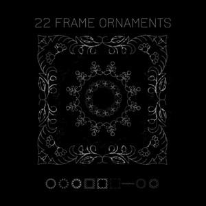 9 Frame Ornaments