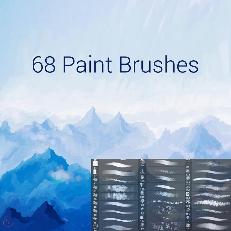 Photoshop brushes paint