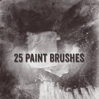25 Free Paint Brushes
