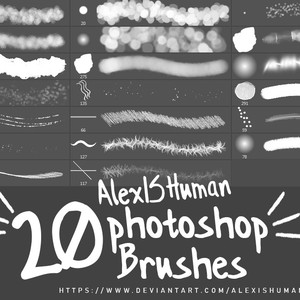 20 Free Photoshop Brushes