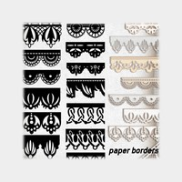 Free Paper Borders Brushes
