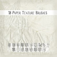 Paper Texture Brushes
