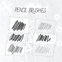 6 Pencil Brushes