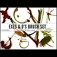 Exes and O's Brush Pack