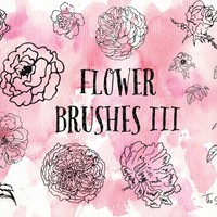 Flower Brushes 3