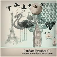 Random Brushes 01