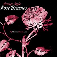 Free Rose PS Brushes