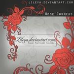 Rose Corners Floral Brushes