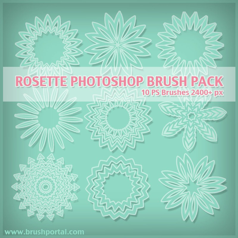 Photoshop brushes rosetta