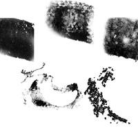 Set of 5 Grunge Brushes