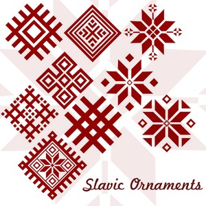 10 Slavic Ornaments