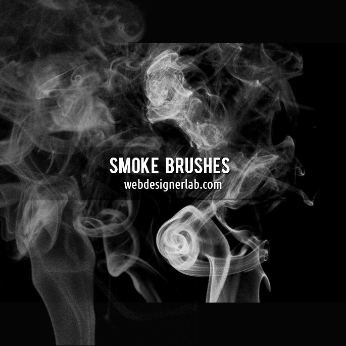 Photoshop brushes smoke,background