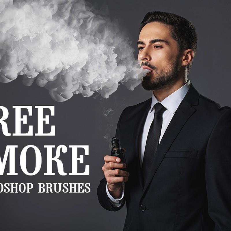 Photoshop brushes smoke, effect