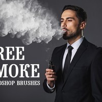 Free Photoshop Smoke Brushes by FixThePhoto
