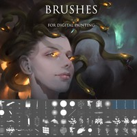 Photoshop Brushes for digital painting