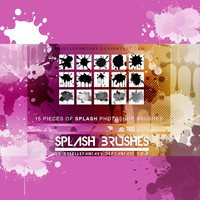 15 Splash Brushes