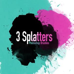 3 Splatter Brushes