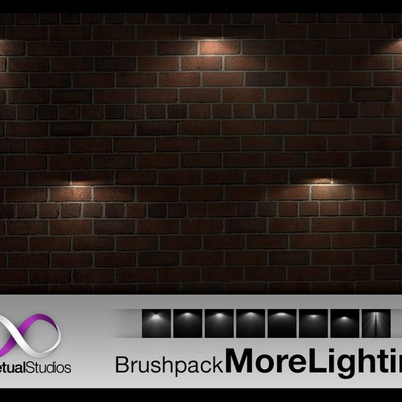 Photoshop brushes spot, scene, light
