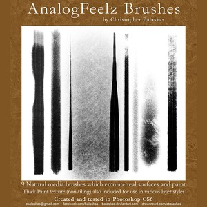AnalogFeelz Brushes