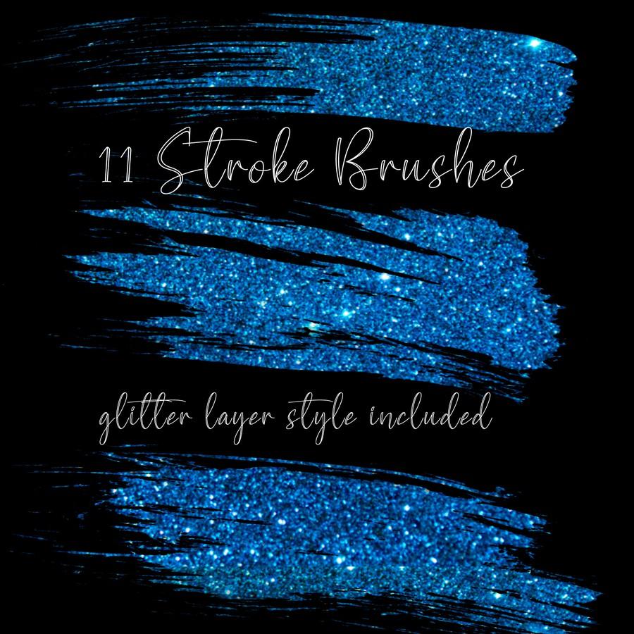 Photoshop brushes stroke, ink