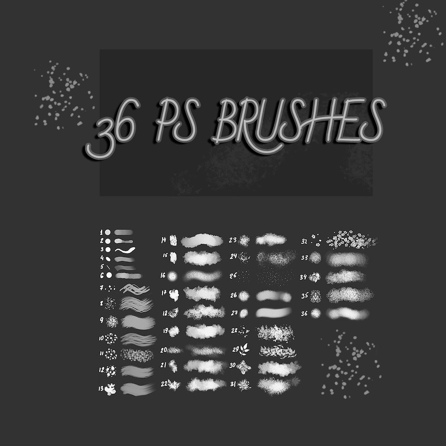 Photoshop brushes stroke
