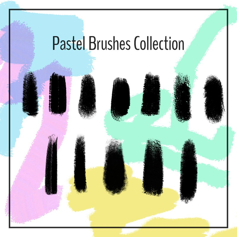 Photoshop brushes strokes, art