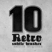 10 Photoshop Subtle Brushes