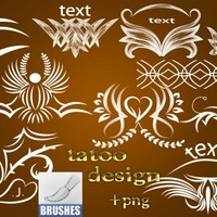 Tattoo Design Brushes