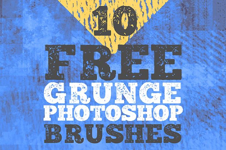 Photoshop brushes texture, grunge