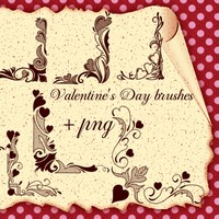 Decorativ Corners for Valentine's Day
