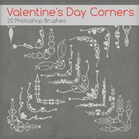 Valentine Day Corners