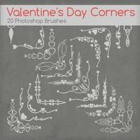 Valentine Day Corners