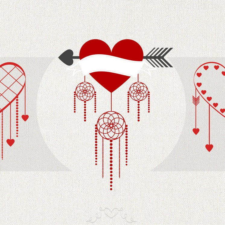 Photoshop brushes heart,love,valentine, twist